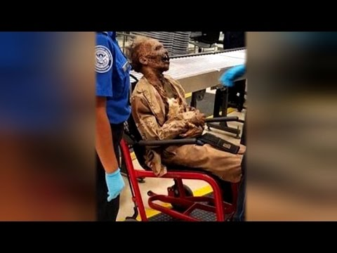 Download TSA Calls 'Texas Chainsaw Massacre' Corpse Weirdest Thing At Airport Security HD Mp4 3GP Video and MP3