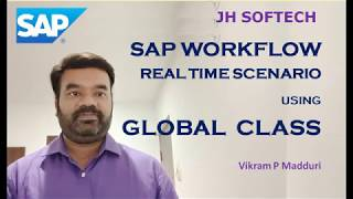 SAP Workflow using Class Real Time Project