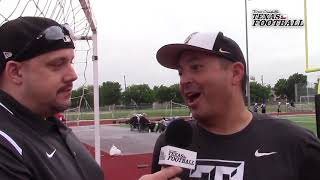 DCTF Interviews: The Colony head coach Rudy Rangel