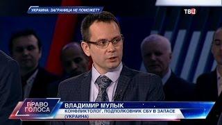 Украина: заграница не поможет? Право голоса
