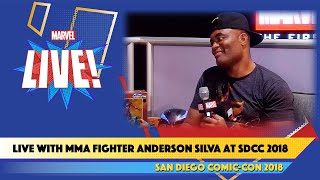 MMA Legend Anderson Silva on His Lifelong Passion for Spider-Man