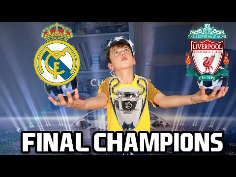 FINAL CHAMPIONS LEAGUE - REAL MADRID VS LIVERPOOL - ADRENALYN XL vs MATCH ATTAX