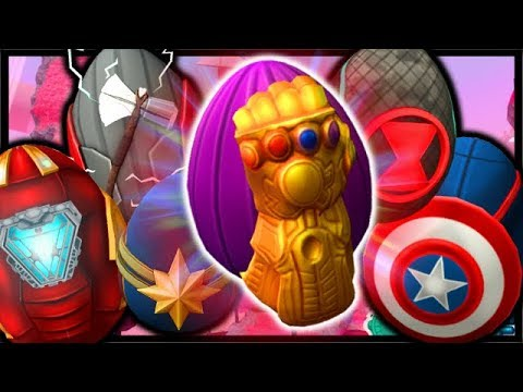 How To Get Infinity Gauntlet All Avengers Eggs Roblox Egg Hunt