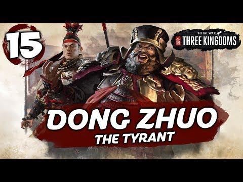LÜ BU VS GUAN YU! Total War: Three Kingdoms - Dong Zhuo - Romance Campaign #15