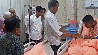 Jokowi Bersama JK Jenguk Korban Bom Kampung Melayu