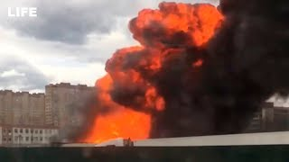 В Димитровграде на заправке произошла утечка газа