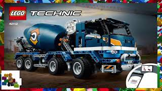 LEGO Instructions - Technic - 42112 - Concrete Mixer Truck