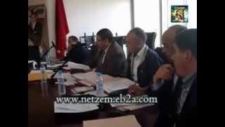 preview picture of video 'دورة المجلس البلدي بوادي زم 16-4-2014'