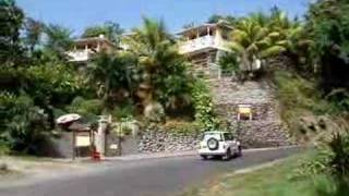 preview picture of video 'Hotel in Calibishie Dominica : Calibishie Lodges.'