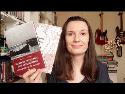 2 livros: Mariana no mundo dos Saltisonhos + Um u?tero e? do tamanho de um punho