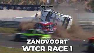 Hot girls, hot drivers, home race hero: WTCR Zandvoort race 1 2018