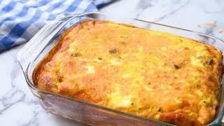 The #1 Breakfast Casserole Recipe