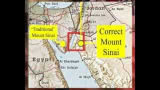Jerusalem is above Mt. Sinai
