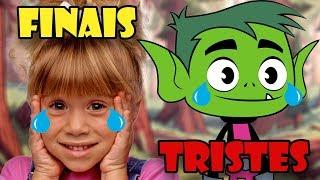 Os finais mais tristes! Jovens Titãs, Gravity Falls e Três é demais