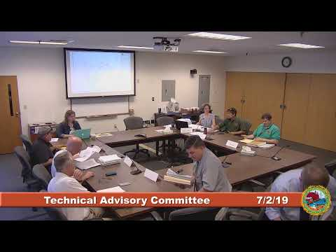 Technical Advisory Committee 7.2.2019