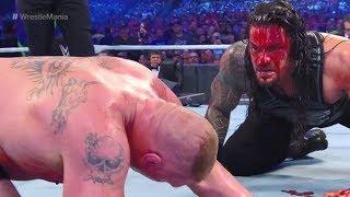 WWE WRESTLEMANIA 34 - BROCK LESNAR VS. ROMAN REIGNS By Wrestling Zone