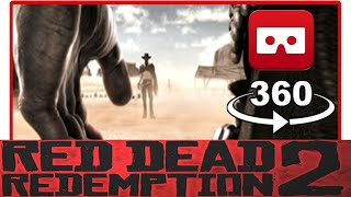 360° VR VIDEO - Red Dead Redemption 2 Trailer VR - VIRTUAL REALITY 3D
