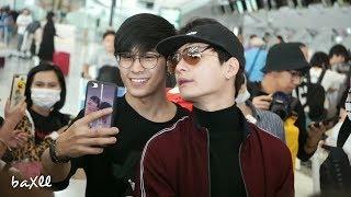 180316 Singto&Krist - Heading To Chengdu @ BKK Airport