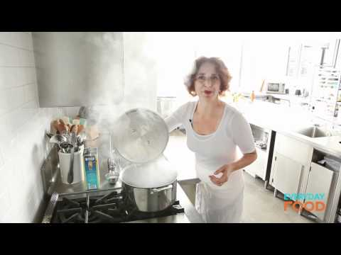 Pasta Shells with No-Cook Tomato Sauce | Everyday Food with Sarah Carey