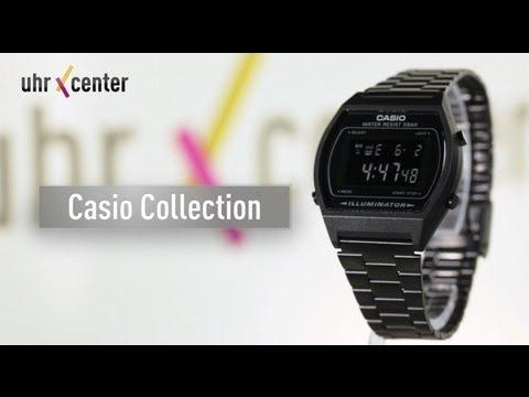 Casio B640WB-1BEF Digital-Armbanduhr