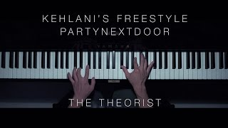 PARTYNEXTDOOR - Kehlani's Freestyle | The Theorist Piano Cover