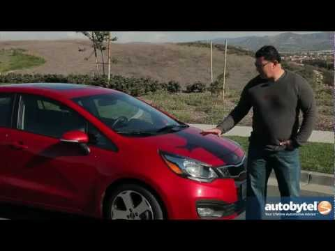 2013 Kia Rio Sedan Video Review