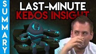 Last-minute Kebos info, Mod Reach's OSRS legacy, OSRS QA Summary - 09/01/19