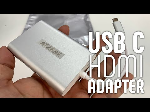 USB-C Hub with HDMI and Ethernet Port by Atzebe Review