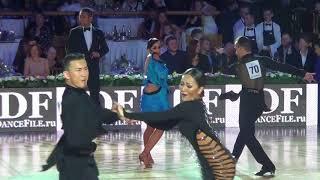 Vladislav Khilchenko  & Alexandra Povzun Samba 1/4 Kremlin Cup Amateur Latin