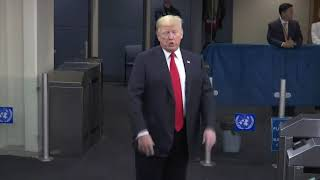 At UN, Trump says US-NKorea relations 'very good' | Kholo.pk