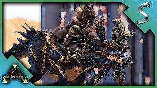HUNTING DOWN A HIGH LEVEL VELONASAUR TO TAME! - Ark: Survival Evolved [Cluster E12]