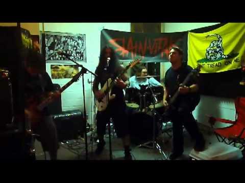 """Slain Vitals """"Slain"""" ( Live Rehearsal)"""