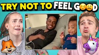 College Kids React To Try Not To Feel Good Challenge