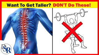 📏 If You Want To Get Taller, Do NOT Do These 3 Exercises