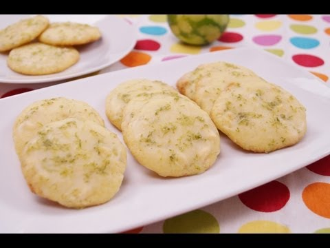 Key Lime White Chocolate Chip Cookies Recipe: From Scratch: How To: Diane Kometa: Dishin With Di #79