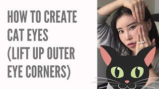 How To Create Cat Eyes | Lift Up The Outer Corners Of The Eyes By Face Yoga Exercises