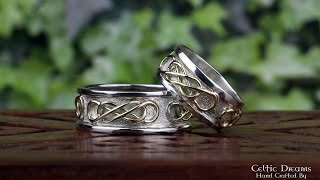 Celtic Wedding Rings - The Story Behind Them, Inspiration & Making.