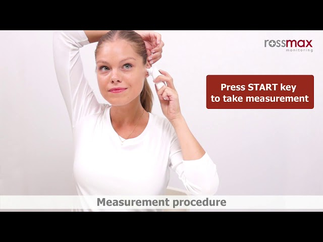 مقياس حرارة الاذن , ترمومتر روزماكس قياس الحرارة من الاذن