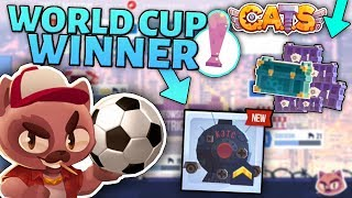 WINNING THE CATS WORLD CUP - MEOWSCOW NEW BODY (Crash Arena Turbo Stars)