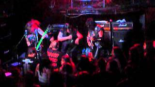EXCITER The dark command at Les Katacombes, Montreal Canada, May 31th, 2012