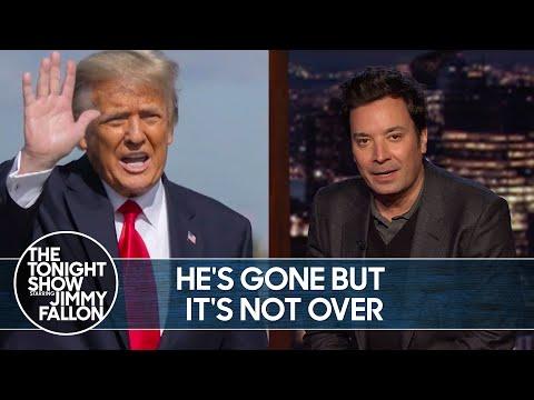 Trump's Entire Impeachment Legal Team Quits | The Tonight Show