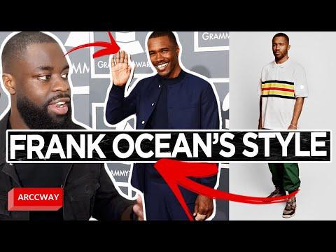How To Dress Like Frank Ocean/ Frank Ocean Style Break Down – Mens Fashion Guide DIY