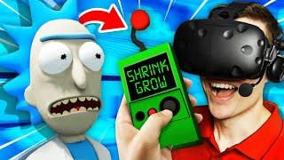 NEW Making Rick BIGGER THAN THE WORLD (Rick and Morty: Virtual Rick-Ality Gameplay)