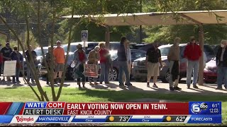 Early voting begins Wednesday in Tennessee