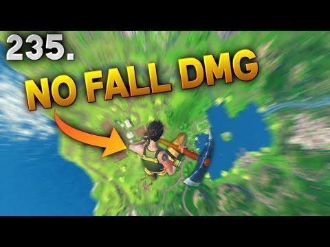 500 IQ NO FALL DMG TRICK..!! Fortnite Daily Best Moments Ep.235 Fortnite Battle Royale Funny Moments
