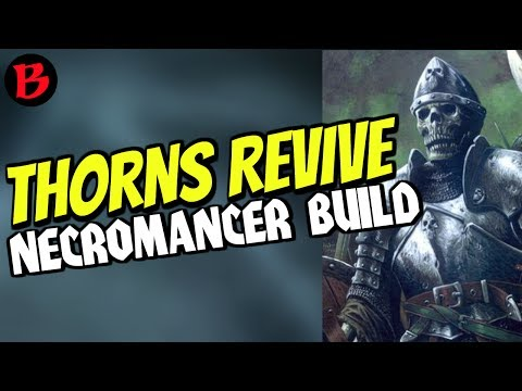 Thorns Revive Trag'Oul Necromancer Diablo 3 Patch 2.6 Season 11 Build