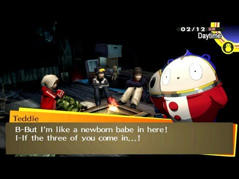 [HD] [PS Vita] Persona 4 Golden - Getting Lost with the Guys