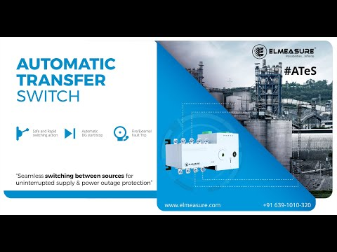 ATeS (Automatic Transfer Switch) from 63A - 630A
