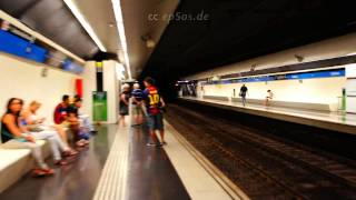 preview picture of video 'Mass Transit System of Barcelona Metro'