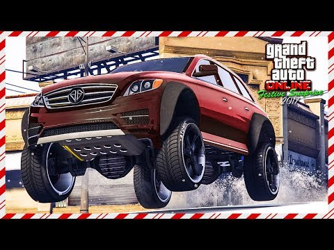 BUYER BEWARE - Don't Buy This Car! GTA Online Festive Surprise 2017 DLC: Benefactor Streiter Review!
